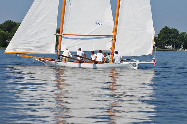 2010 MRYC Chesapeake Bay Log Canoes