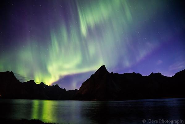 AURORA BOREALIS - HAMNOY, NORWAY