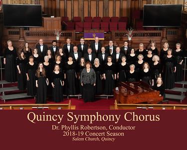 Quincy Symphony Chorus - 2018-2019