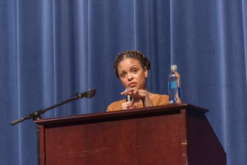 Jesmyn Ward at Spanish River HS