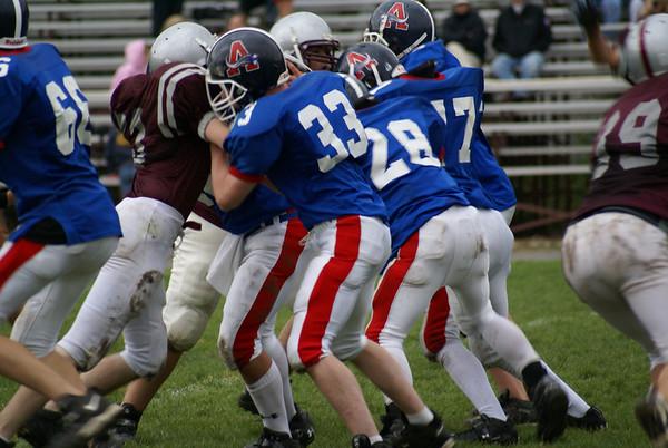 Millis Freshman Football Vs. Ashland Freshman Football
