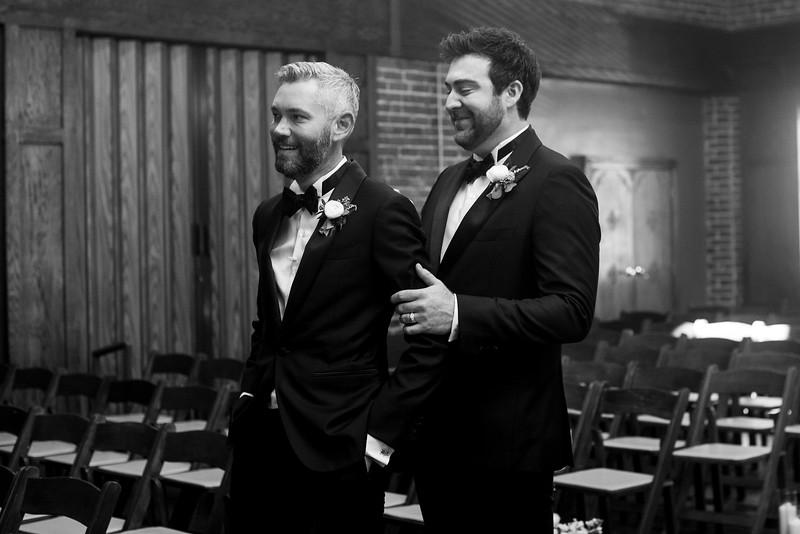Gay Wedding First Look