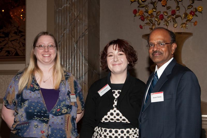 Sarah Eyermann, Sara Mitchell, Swami Reddy -- SP Systems, Inc Fourth Annual Business Meeting & Luncheon, Greenbelt, MD