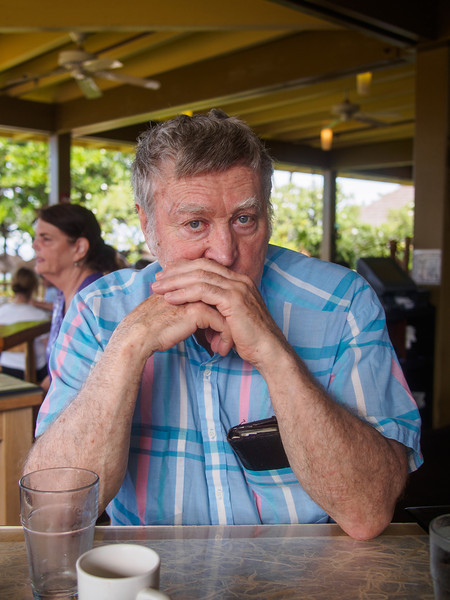 Grandpa in Hawaii
