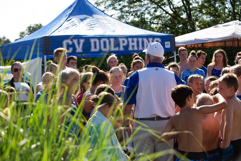 CV vs Radley Run 2018 Swim Team