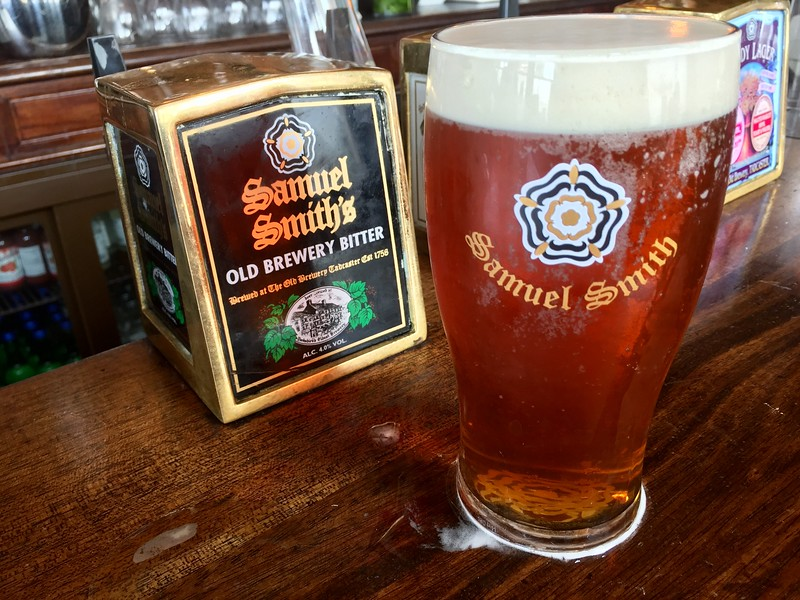 A Pint Of Sam Smith's Bitter