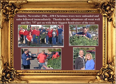 11-25-18 Christmas Tree delivery and sales.