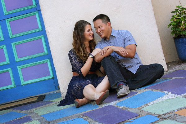 Erin & Andy Engagement @ Balboa Park