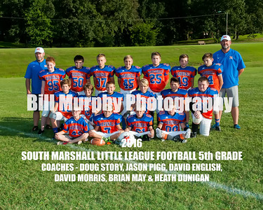 2016 South Marshall 5th Grade Little League Football