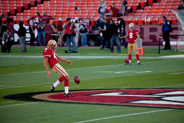 Niners vs Chargers