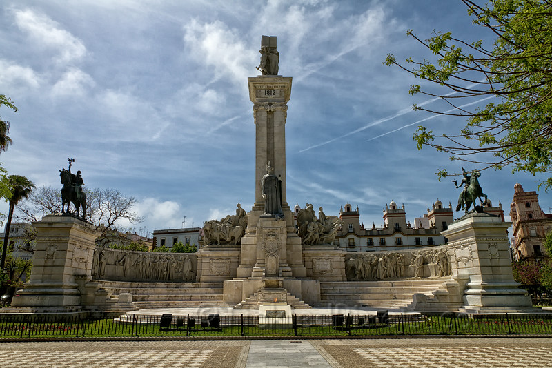 Monument in Cádiz to the Cortes and the 1812 Constitution