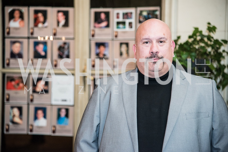 Tony Luke, Jr., Ambassadors for Drug-Free Youth, Mentor Foundation USA, at the Meridian House, November 9, 2017.  Photo by Ben Droz.