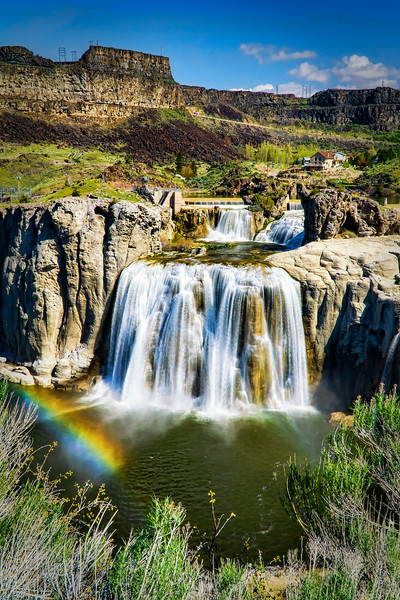Idaho Shoshone Falls (Apr 2016)