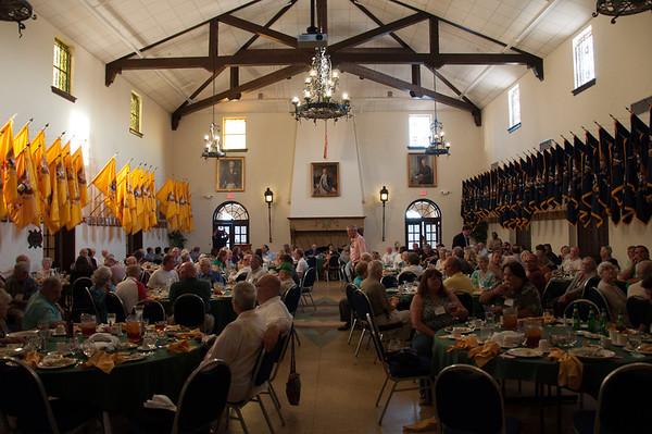 Dinner at Fort Benning