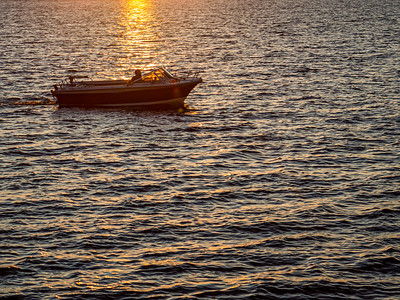 Homeward at Sunset