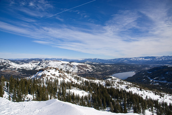 Donner Summit PCS snowshoe trip