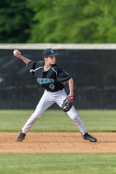 2019-05-14 Great Bridge vs Hickory Junior Varsity Baseball