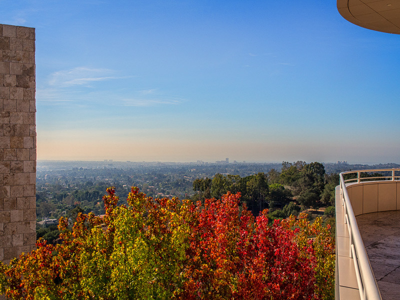 October 22 - Autumn day at The Getty.jpg