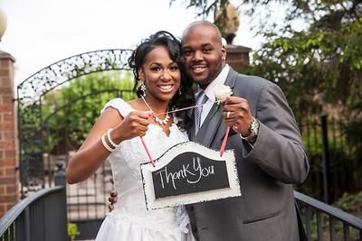 Sherita & Jeremiah Royster's Wedding Day