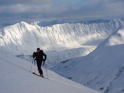 Alaska Backcountry Skiing 2012