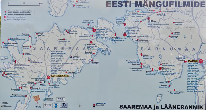 Muhu und Saaremaa