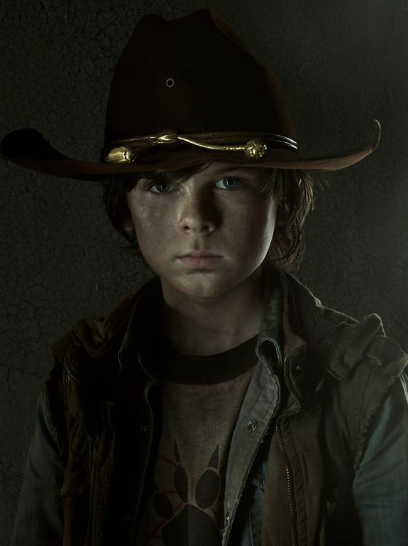 . Carl Grimes (Chandler Riggs) - The Walking Dead -  PHoto Credit: Frank Ockenfels/AMC
