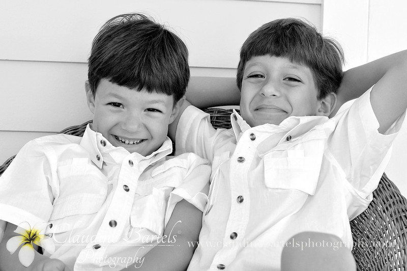 Marcos and Lucas on porch4 black and white.jpg