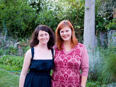 Christa and Luna, Aug 2008