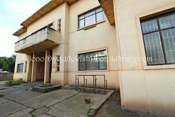AFRICA, Congo, Democratic Republic of, Lubumbashi. Weizmann social hall/theatre/Jewish community offices (former) (3.2014)