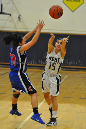 Churchill vs. West Albany Girls Basketball