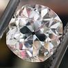 3.03ct Antique Cushion Cut Diamond, GIA K VVS2 1