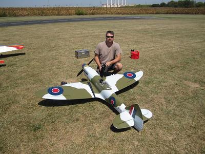 Yellow Aircraft Spitfire