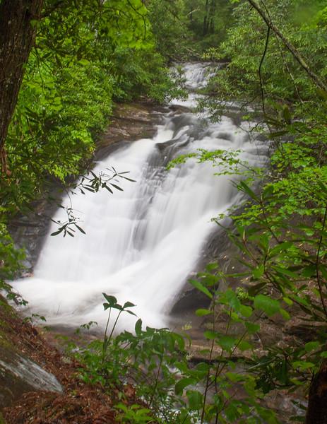Upper part of Sea Creek Falls