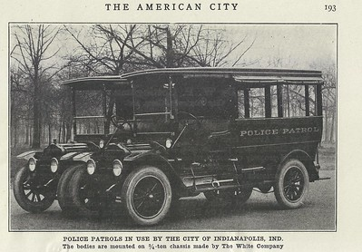 IPD Patrol Wagons August 1920
