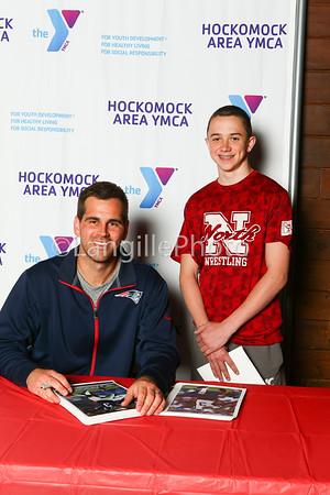 Stephen Gostowski signing