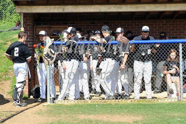 Berks Catholic Baseball Senior Day 2012 - 2013