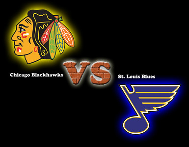 Blackhawks -vs- Blues 01-21-2009