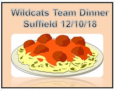 2018_12_10 Wildcats December Team  Dinner