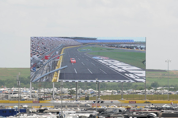 Charlotte Motor Speedway - Sprint Cup Practice - May 28, 2011