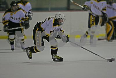2/27/2008 - St. Anthonys HS Ice Hockey body check vs. Sachem