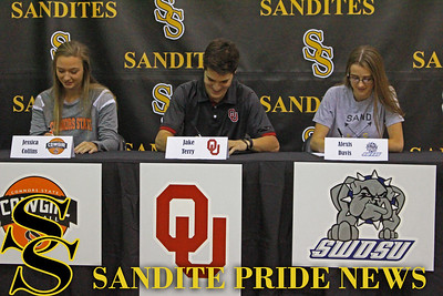 Class of 2017 Athletic Signings