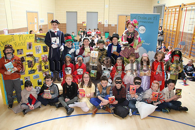WORLD BOOK DAY AT DROMINTEE PRIMARY SCHOOL