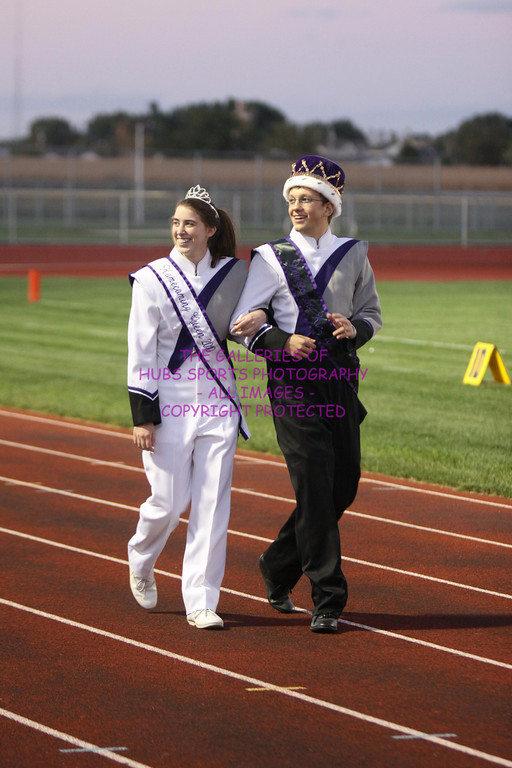 2010 RTHS SOPHOMORE FOOTBALL vs KANELAND + RTHS HOMECOMING COURT
