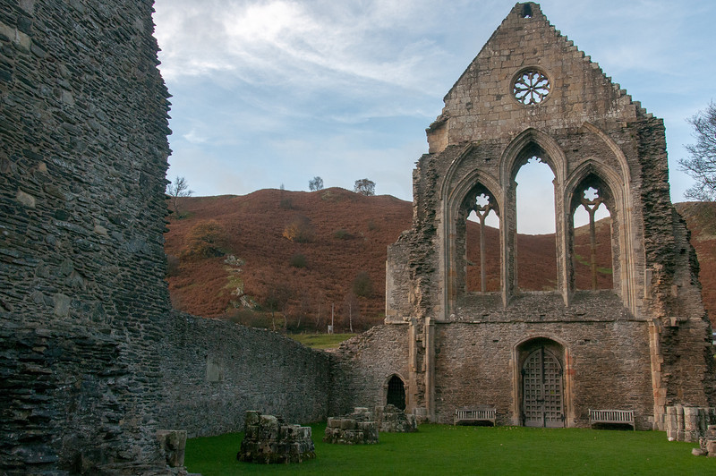 The Villa Crucis Abbey in Wales, England