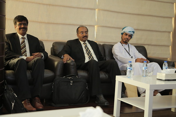 Bank Muscat visit