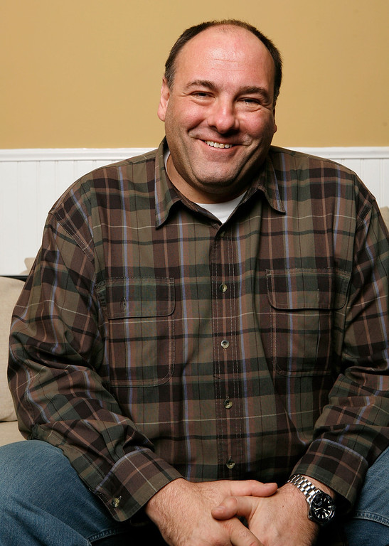 """. Actor James Gandolfini of the film \""""In The Loop\"""" poses for a portrait at The Lift during the 2009 Sundance Film Festival on January 22, 2009 in Park City, Utah.  (Photo by Matt Carr/Getty Images)"""