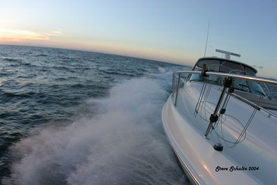 Trip from Clearwater FL. to Miami on a 460 Searay Sundancer