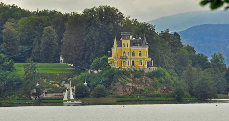 mansion in Maria Worth on the Worthersee