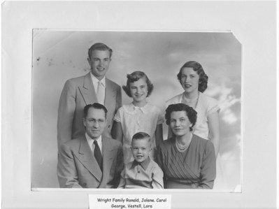 George and Lora Wright Family