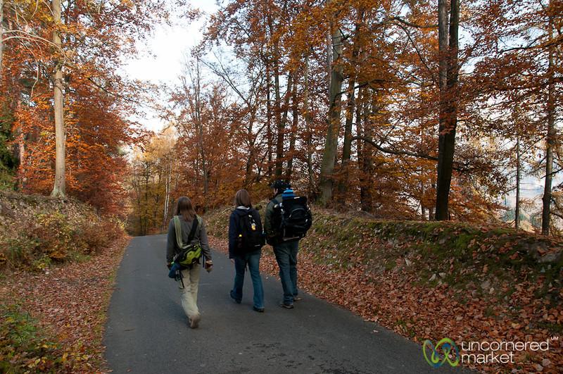 Autumn Hiking - Mníšek pod Brdy, Czech Republic